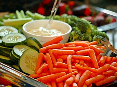 Assorted Veggie TrayThis beautifully arranged vegetable tray is perfect for any gathering or family event.