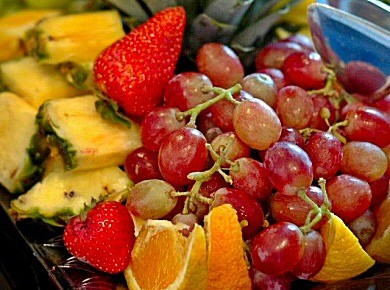 Assorted Fruit TrayThis beautifully arranged fruit tray is perfect for any gathering or family event.